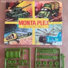 Figuras de Goma y PVC: MONTAPLEX 404 - SOBRE ABIERTO CON MATRICES SIN DESTROQUELAR. Lote 149543678