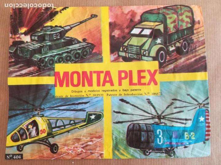 Figuras de Goma y PVC: MONTAPLEX 404 - SOBRE ABIERTO CON MATRICES SIN DESTROQUELAR - Foto 4 - 149543686