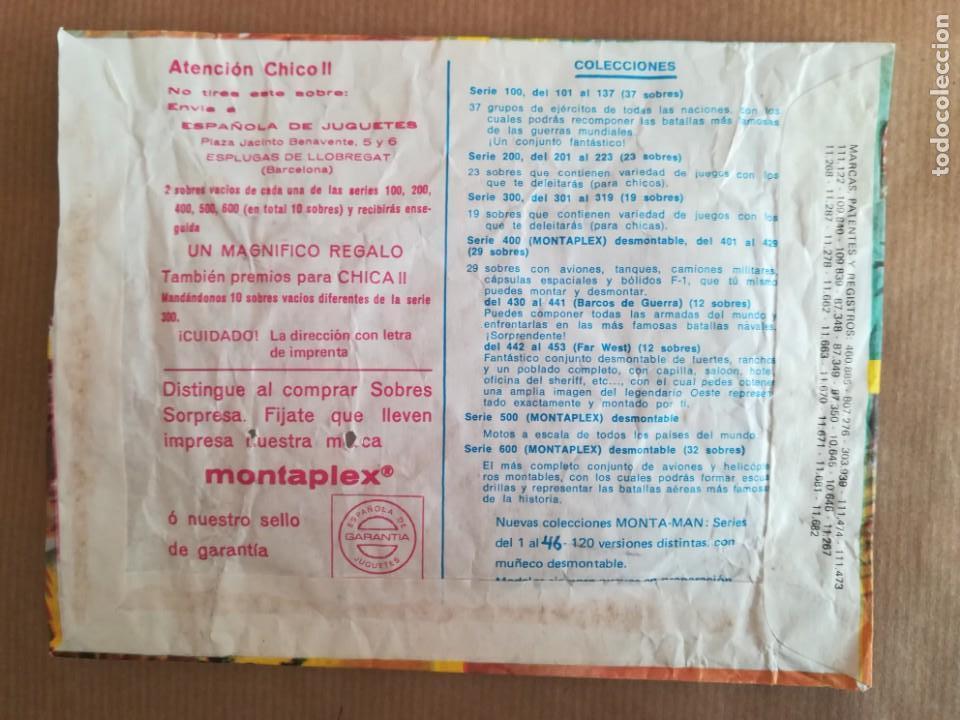 Figuras de Goma y PVC: MONTAPLEX 404 - SOBRE ABIERTO CON MATRICES SIN DESTROQUELAR - Foto 5 - 149543686
