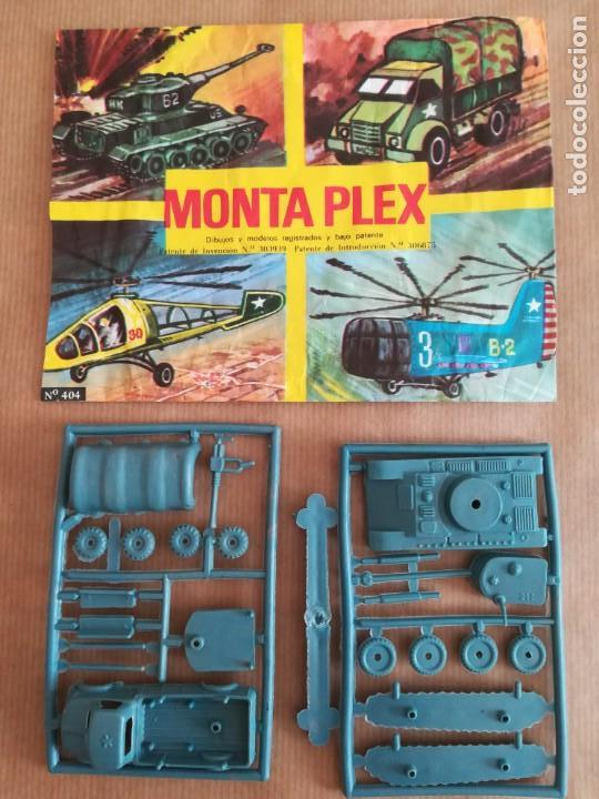 MONTAPLEX 404 - SOBRE ABIERTO CON MATRICES SIN DESTROQUELAR (Juguetes - Figuras de Goma y Pvc - Montaplex)