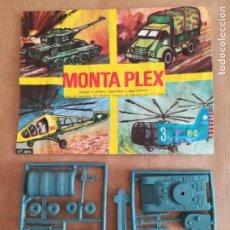 Figuras de Goma y PVC: MONTAPLEX 404 - SOBRE ABIERTO CON MATRICES SIN DESTROQUELAR. Lote 149543790