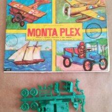 Figuras de Goma y PVC: MONTAPLEX 405 - SOBRE ABIERTO CON MATRICES SIN DESTROQUELAR. Lote 149544330