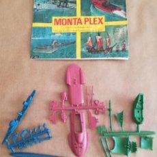 Figuras de Goma y PVC: MONTAPLEX 402 - SOBRE ABIERTO CON MATRICES SIN DESTROQUELAR. Lote 149544394