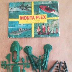 Figuras de Goma y PVC: MONTAPLEX 402 - SOBRE ABIERTO CON MATRICES SIN DESTROQUELAR. Lote 182146937