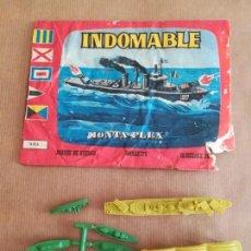 Figuras de Goma y PVC: MONTAPLEX 435 - SOBRE ABIERTO . Lote 149544570