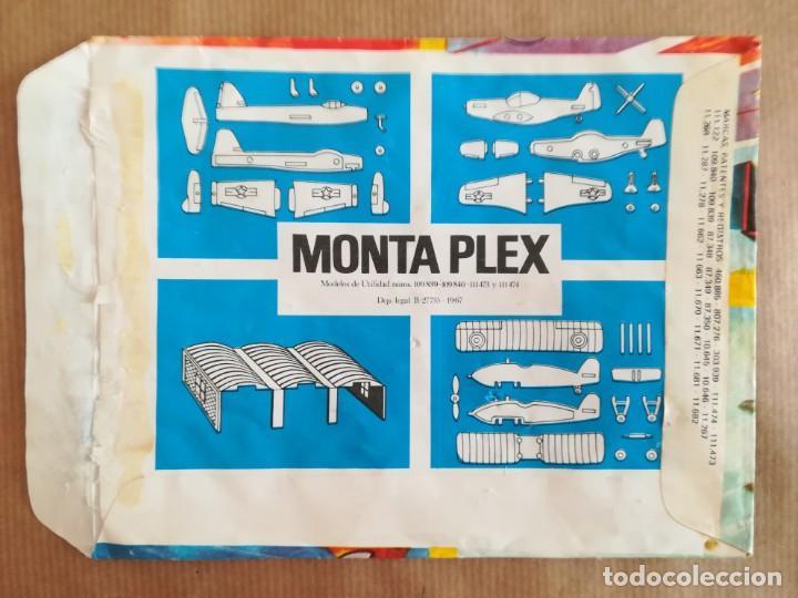 Figuras de Goma y PVC: MONTAPLEX 422 - SOBRE ABIERTO CON MATRICES SIN DESTROQUELAR - Foto 2 - 149544770