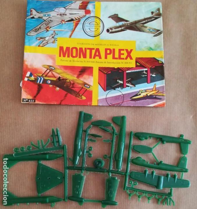 MONTAPLEX 422 - SOBRE ABIERTO CON MATRICES SIN DESTROQUELAR (Juguetes - Figuras de Goma y Pvc - Montaplex)
