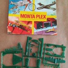 Figuras de Goma y PVC: MONTAPLEX 422 - SOBRE ABIERTO CON MATRICES SIN DESTROQUELAR. Lote 149544770