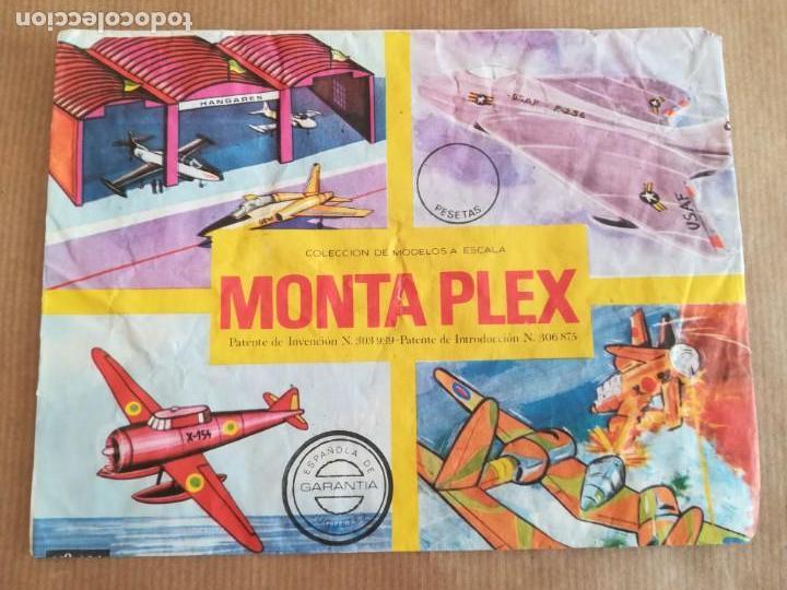 Figuras de Goma y PVC: MONTAPLEX 424 - SOBRE ABIERTO CON MATRICES SIN DESTROQUELAR - Foto 2 - 149544858