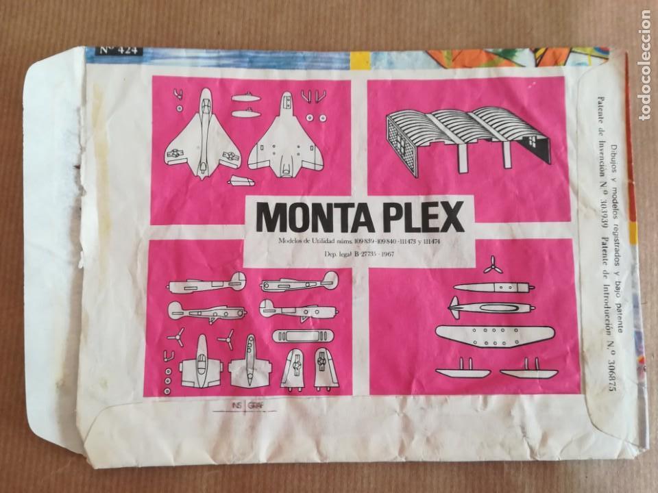 Figuras de Goma y PVC: MONTAPLEX 424 - SOBRE ABIERTO CON MATRICES SIN DESTROQUELAR - Foto 3 - 149544858