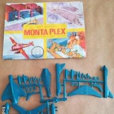 Figuras de Goma y PVC: MONTAPLEX 424 - SOBRE ABIERTO CON MATRICES SIN DESTROQUELAR. Lote 149544858
