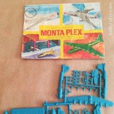 Figuras de Goma y PVC: MONTAPLEX 426 - SOBRE ABIERTO CON MATRICES SIN DESTROQUELAR. Lote 149544902