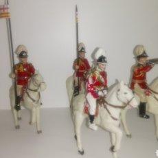Figuras de Goma y PVC: LOTE DE 4 FIGURAS REAMSA. GUARDIA URBANA DE GALA BARCELONA.. Lote 149571760