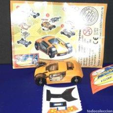 Figuras Kinder: FIGURA COLECCIÓN KINDER + BPZ: MPG 2S-364 . FUTURE CARS. Lote 149584094