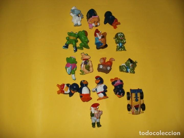 LOTE DE FIGURAS KINDER Y OTRAS (Juguetes - Figuras de Gomas y Pvc - Kinder)