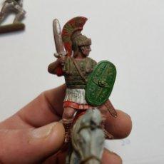 Figuras de Goma y PVC: FIGURA REAMSA ROMANO 170 A CABALLO. Lote 149672201