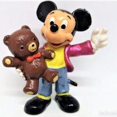 Figuras de Goma y PVC: FIGURA EN GOMA/PVC DE MICKEY MOUSE. DISNEY. HANDPAINTED. BULLY. WEST GERMANY.. Lote 149728798