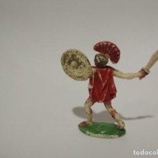 Figuras de Goma y PVC: FIGURA ROMANO ROJAS Y MSLARET. Lote 149745786