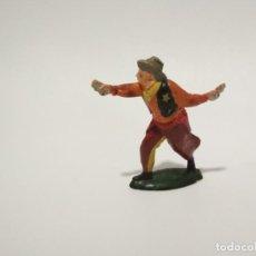 Figuras de Goma y PVC: FIGURA GOMA VAQUERO TEIXIDO. Lote 149746438