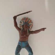Figuras de Goma y PVC: FIGURA INDIO TEIXIDO GOMA. Lote 149754006