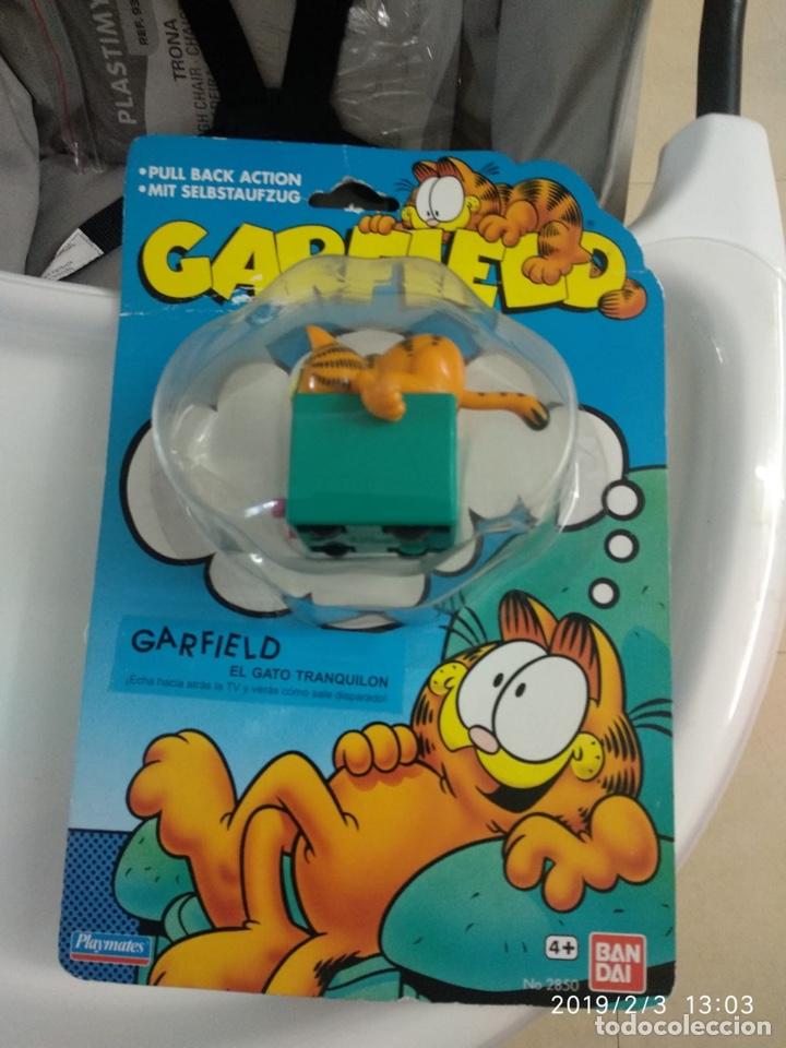 Figuras de Goma y PVC: Garfield bandai - Foto 2 - 149758280