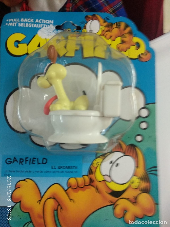 Figuras de Goma y PVC: Garfield bandai - Foto 3 - 149758280