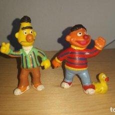 Figuras de Goma y PVC: LOTE 2 MUÑECOS DE GOMA DE BARRIO SESAMO EPI Y BLAS COMICS SPAIN. Lote 149758446