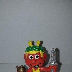 Figuras de Goma y PVC: FIGURA SNIK. ASTROSNIK ROJO (RARO). BULLY. Lote 149930370