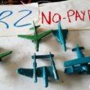 Figuras de Goma y PVC: LOTE 5 AVIONES MONTAPLEX VER FOTOS ESTADO ALGUNO INCOMPLETO. Lote 149934233