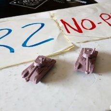 Figuras de Goma y PVC: LOTE 3 TANQUE MONTAPLEX. Lote 149935809