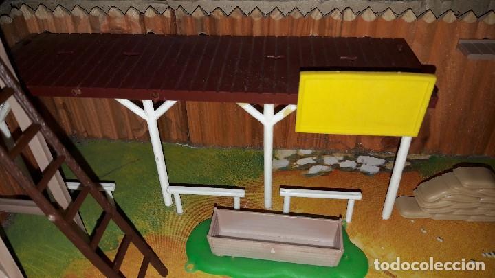 Figuras de Goma y PVC: COMANSI. FUERTE DE MADERA. FORT FEDERAL EN CAJA. AÑOS 70-80 - Foto 6 - 149969134