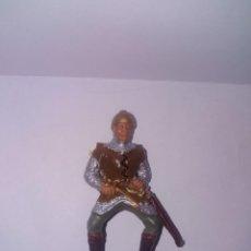 Figuras de Goma y PVC: REAMSA FIGURA DE PVC MEDIEVALES SERIE REY ARTURO. Lote 149995114