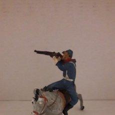Figuras de Goma y PVC: PECH. FEDERAL YANKEE A CABALLO. AÑOS 50.. Lote 149998630