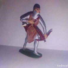 Figuras de Goma y PVC: REAMSA FIGURA DE PVC MEDIEVALES CRISTIANOS JECSAN. Lote 150000474
