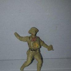 Figure di Gomma e PVC: OLIVER. SOLDADO INGLES 2ª GUERRA MUNDIAL (4). AÑOS 80. PECH. Lote 150027922