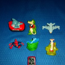 Figuras Kinder: LOTE 7 FIGURAS PVC KINDER, MPG, MARVEL, DISNEY. Lote 150065545