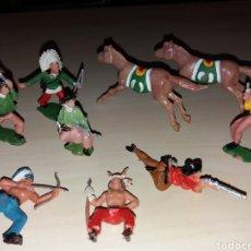 Figuras de Goma y PVC: LOTE FIGURAS REAMSA, DEL FUERTE, WEST FORT. Lote 150040112