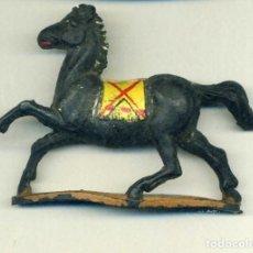 Figuras de Goma y PVC: CABALLO PARA JINETE INDIO / GAMA. Lote 150117314
