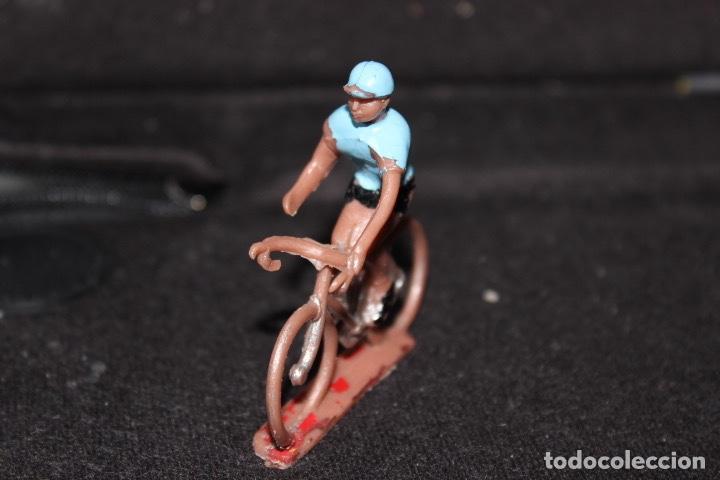 Figuras de Goma y PVC: 5 CICLISTAS PVC Años 60. Sotorres - Foto 12 - 150157062