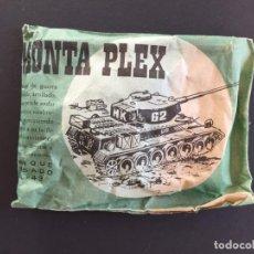Figuras de Goma y PVC: MONTAPLEX - SOBRES PEQUEÑOS - TANQUE DE GUERRA - AÑOS 60 70 _ LEY398. Lote 150161938