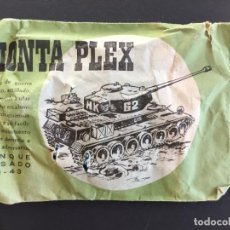 Figuras de Goma y PVC: MONTAPLEX - SOBRES PEQUEÑOS - TANQUE DE GUERRA - AÑOS 60 70 _ LEY399. Lote 150162150