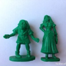Figuras de Goma y PVC: 2 FIGURAS JOROBADO NOTRE DAME - COMICS SPAIN. Lote 150167586