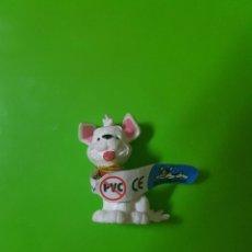 Figuras de Goma y PVC: PERRO PERRITO BLANCO DIBUJOS ANIMADOS DISNEY ORIGINAL BULLYLAND. Lote 150177290