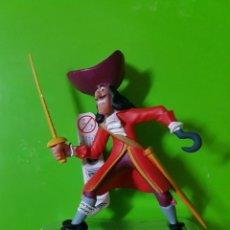 Figuras de Goma y PVC: EL CAPITÁN GARFIO HOOK PETER PAN DISNEY ORIGINAL BULLYLAND. Lote 150178830