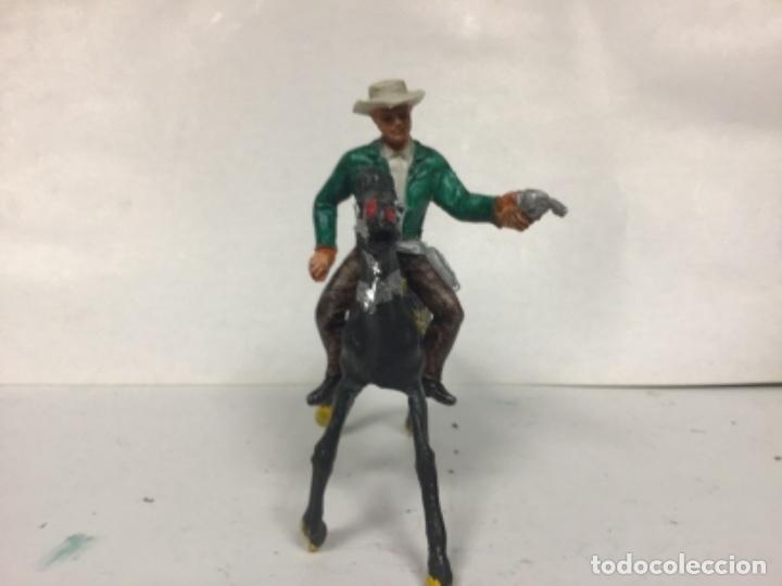 Figuras de Goma y PVC: FIGURA VAQUERO BONANZA PONDEROSA COMANSI CHAPARRAL COWBOY WESTERN - Foto 2 - 150179610
