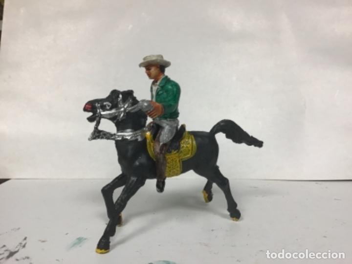 Figuras de Goma y PVC: FIGURA VAQUERO BONANZA PONDEROSA COMANSI CHAPARRAL COWBOY WESTERN - Foto 3 - 150179610