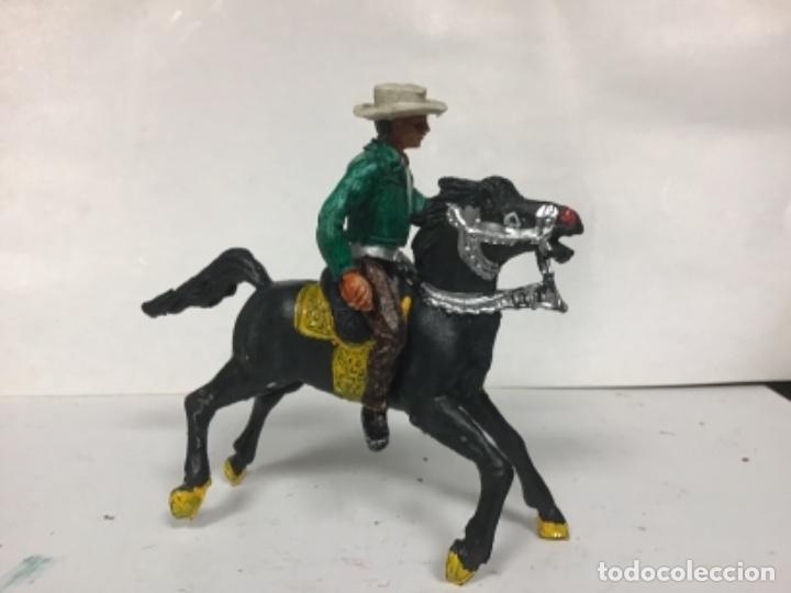 Figuras de Goma y PVC: FIGURA VAQUERO BONANZA PONDEROSA COMANSI CHAPARRAL COWBOY WESTERN - Foto 4 - 150179610