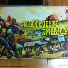 Figuras de Goma y PVC: TODO EL OESTE AMERICANO. Lote 150243194