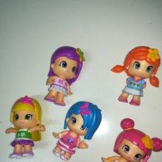 Figuras de Goma y PVC: LOTE DE 5 MUÑECAS PINYPON PIN Y PON. Lote 150301093