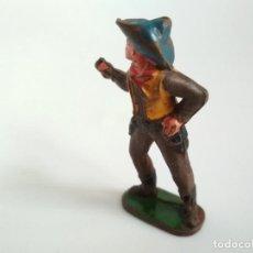 Figuras de Goma y PVC: RARO VAQUERO CAPELL GOMA AÑOS. 50. Lote 150303802